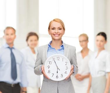 Gestione presenze del personale e orologi visivi