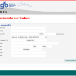Acquisizione automatica CV online