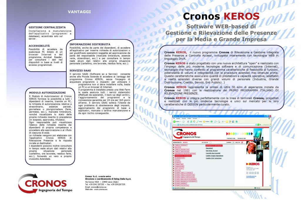 Brochure Software Keros