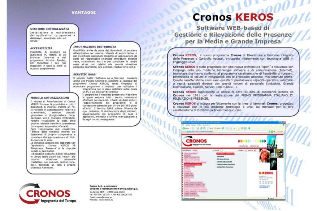 Brochure Software Keros