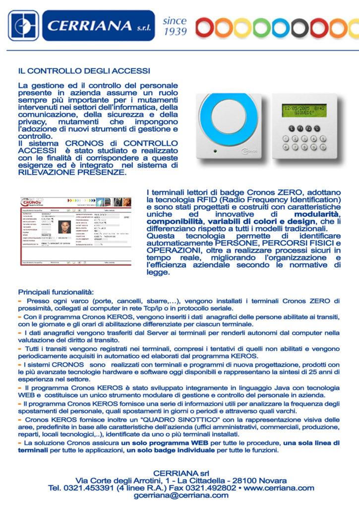 Controllo accessi - Giugno 2012
