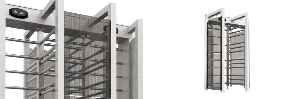 Tornello a tutta altezza; caratterizzato da una struttura robusta e dai migliori materiali, per resistere all'uso intensivo