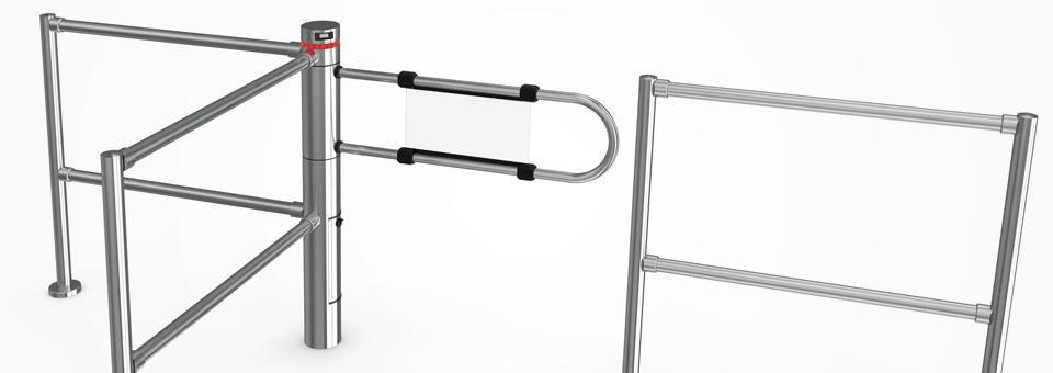 Banner Saloon 40 battente motorizzato estremamente compatto, con un design innovativo e funzionale!