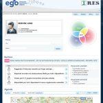 Ego share è una vera e propria intranet aziendale, uno spazio a cui i collaboratori accedono e dove trovano tutte le notizie