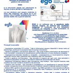 EGO per la gestione del personale - Settembre 2013