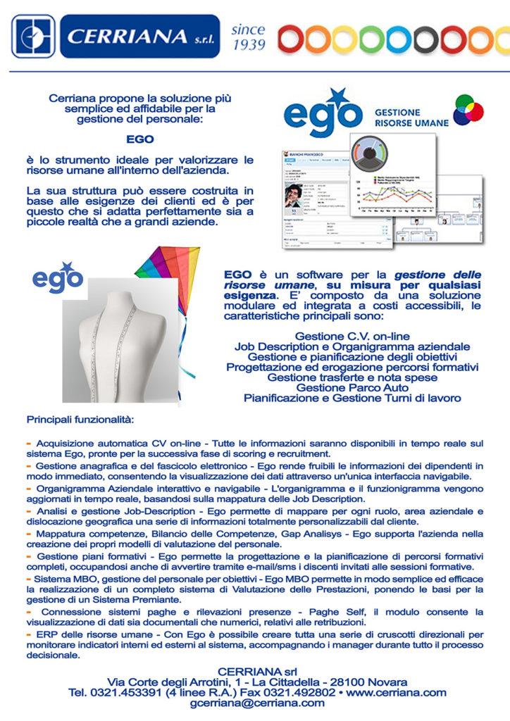 EGO, Software gestione risorse umane