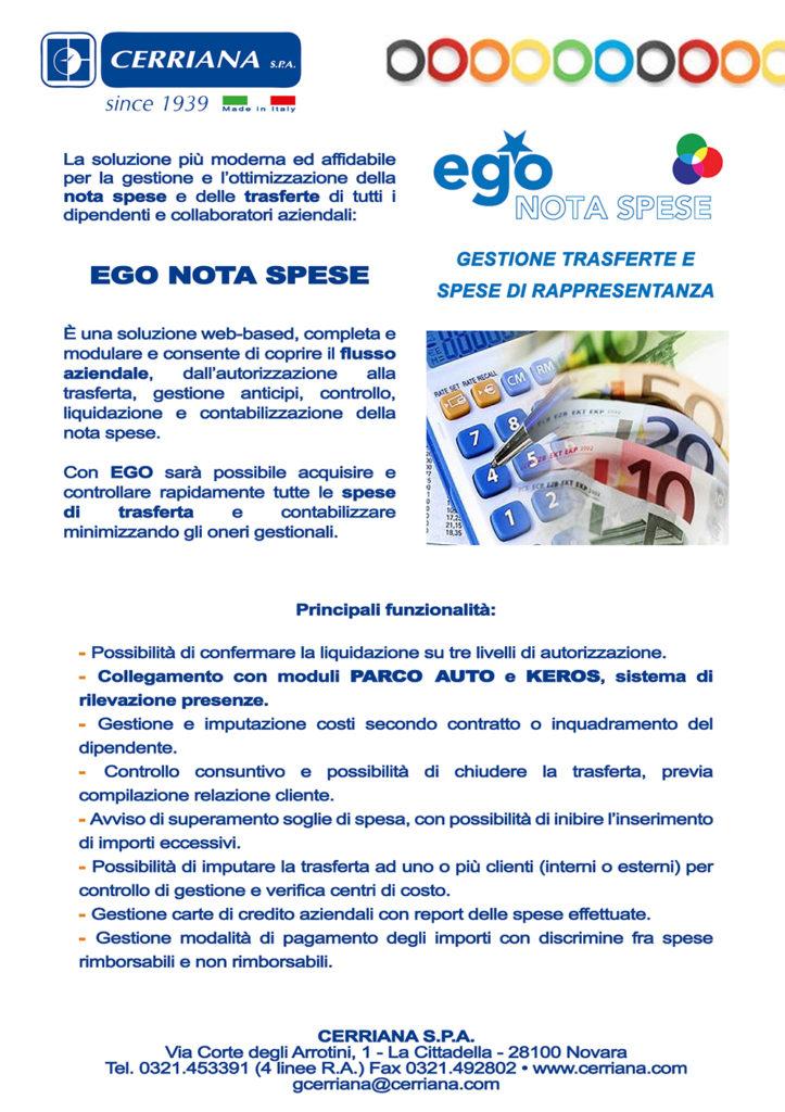La gestione delle note spese, sistema di rilevazione presenze