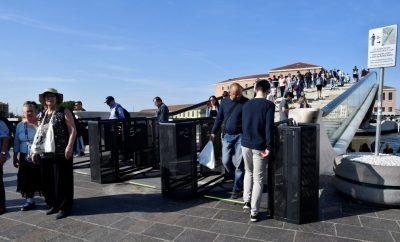 come funzionano i tornelli a venezia